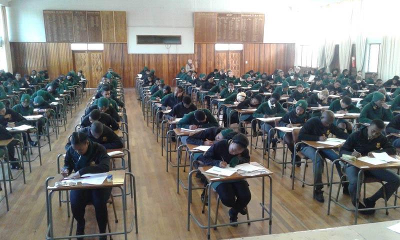 School Hall Exams