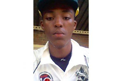 Sbongakonke Thabede Cricket Player Vryheid High School