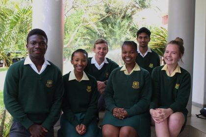 Vryheid High School Leaders 2019