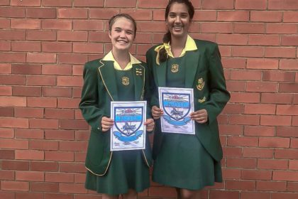 Vryheid High School Learners going the extra mile