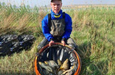 South African freshwater angling champion - Zander van Greuning
