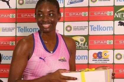 Pamela Chukwu. South-African-Black-Netball-Player